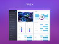 Dashboard - Apex Aquarium System