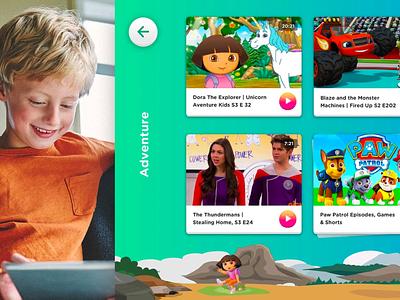 Nickelodeon App Screen handsome app children youth