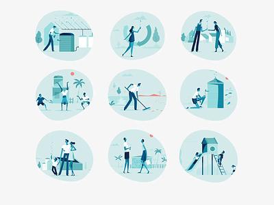 Richard's Rainwater | Illustrations design agency branding design brand identity brand design illustration