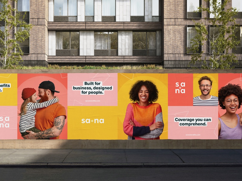 Sana Benefits | Billboard Design