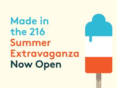 Made Summer 2013 popsicle illustration poster
