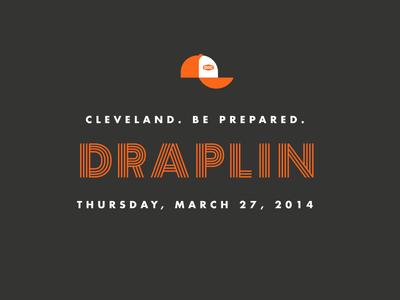 Draplin type draplin hat inline