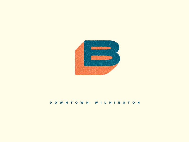 Butler  logo shadow type texture