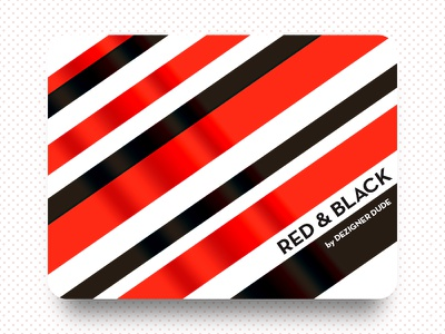 Red and Black dezignerdude red n black balanced equation white space black fillings filled with red diagonal lines