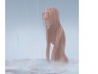 Rainy Girl Portrait