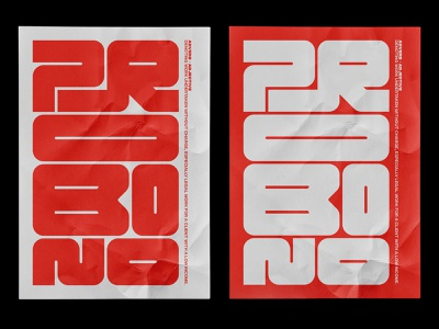 Probono Type Poster font design type art poster art posterdesign poster typedesign typeface design typography type