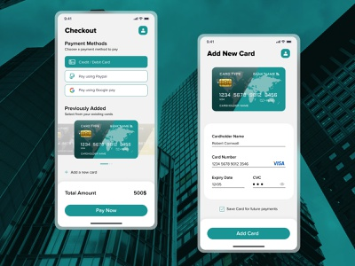 Credit Card Checkout | #DailyUI #002 mobile app application checkout app web design figma user experience motion graphics appui dailyui creditcard uiinspiration userinterfacedesign userinterface bankingapp ui