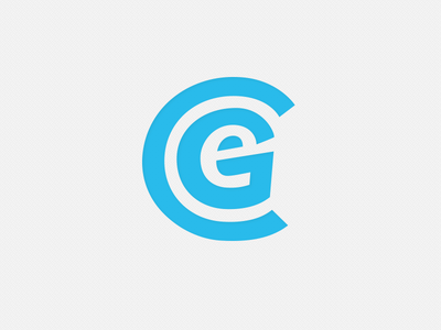 GEC Logo monogram branding identity logo