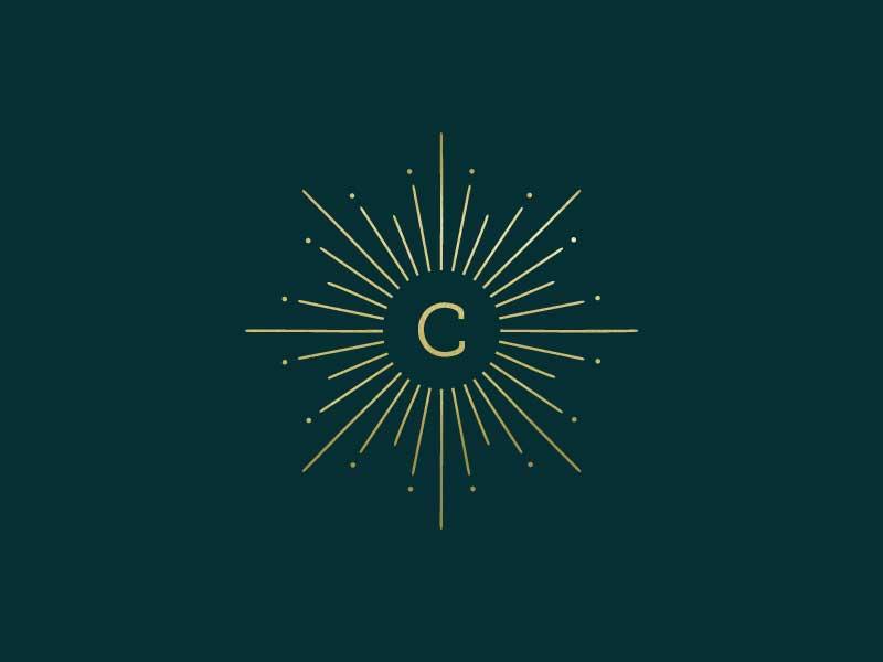 Starburst Logo iconography icon geometric logo sacred geometry symbols brand identity branding logo type logo design