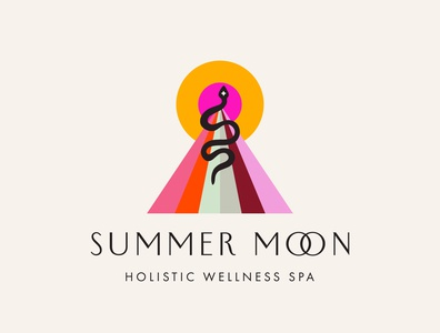 Summer Moon Logo Design