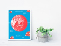 Poster : Save the planet Earth