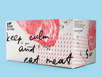 Meat lovers : identity & packaging