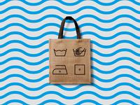 "Laundry ""Premium"" | Identity | Logo"