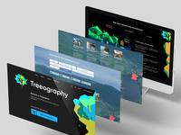 Treeography | ui/ux design
