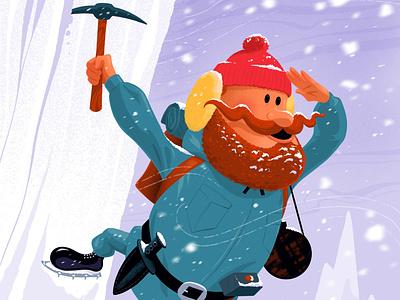 Yukon Cornelius christmas winter snow misfit toys cartoon rudolph
