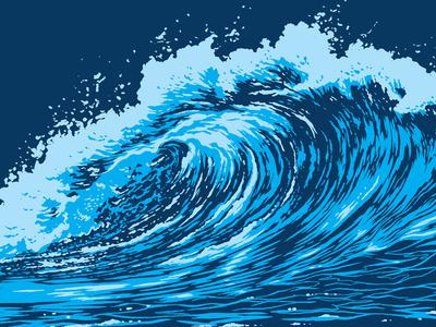 Making Waves water foam crashing tidal sea ocean surf wave