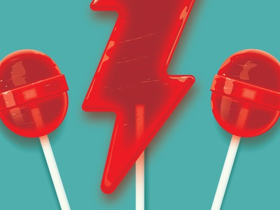 Lollipops vector pop candy lollipop