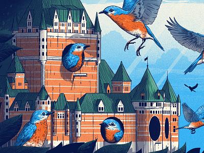 Dave Matthews Band Quebec City Poster poster chateau frontenac quebec dave matthews band dmb
