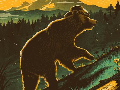 Chris Stapleton Poster mt rainier seattle pnw forest mountains bear poster chris stapleton
