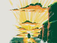 Matthew fleming green flash celtic sun main