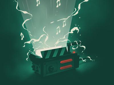 Halloween Spotify Playlist Cover playlist spotify ghost ghostbusters halloween