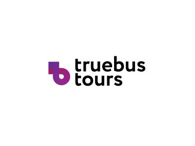 Truebus tour logo concept
