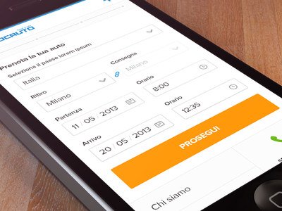 booking page booking booking page ios iphone mobile ui gui angeloro triboo icons