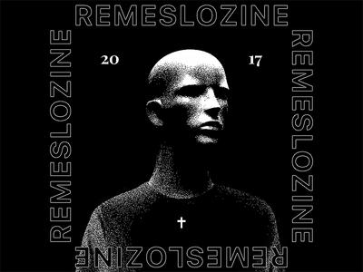 Remeslo Zine cross underground fashion street print t-shirt remeslozine