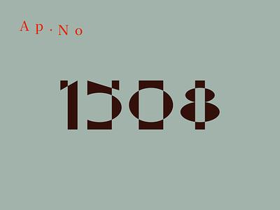 1508 number font design type design type art type typogaphy fonts taldesign tal experiment numbers vitaliy rynskiy