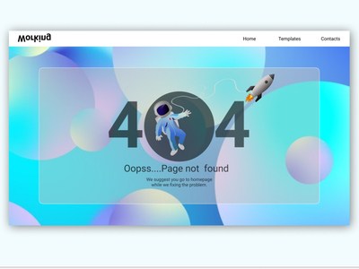 404 Page not found visualdesign inspiration designinspiration somethingwentwrong pagenotfound 404 app design designapp graphicdesign uidesign webdesign webapplication webpage dribbleshot dailyui ux ui