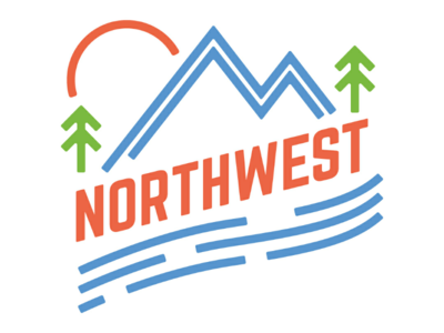 Northwest Window Sticker