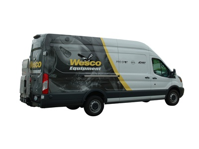 Equipment Van Wrap