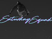 Saturday Squad Branding - Logo 2/3