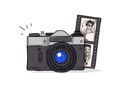 Icone Photo icon vector illustration illustrator