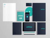 Advisa branding concept
