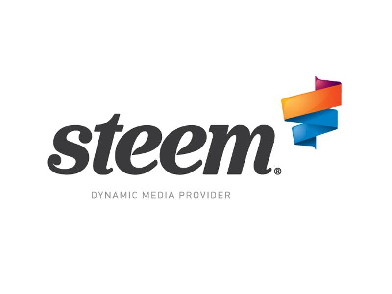Logo Steem logo design koncept