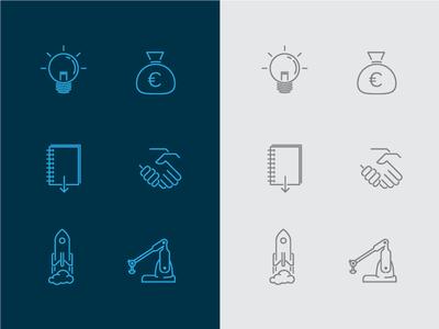 Line Graphic Icons
