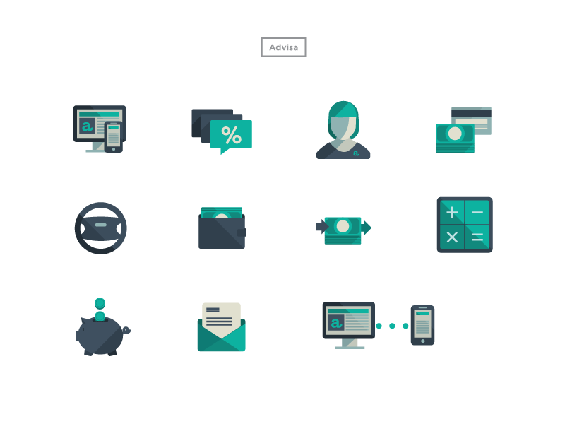 Icons icons graphics design vector line illustrator graphic design symbols