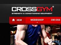Crossgym Web Menu