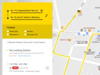 Taiwan Bus Route
