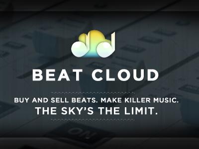 Beat Cloud #3 cloud icloud cloudapp music itunes icon logo