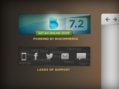 WingsCommerce 2 rebound web web-design web design icons homepage