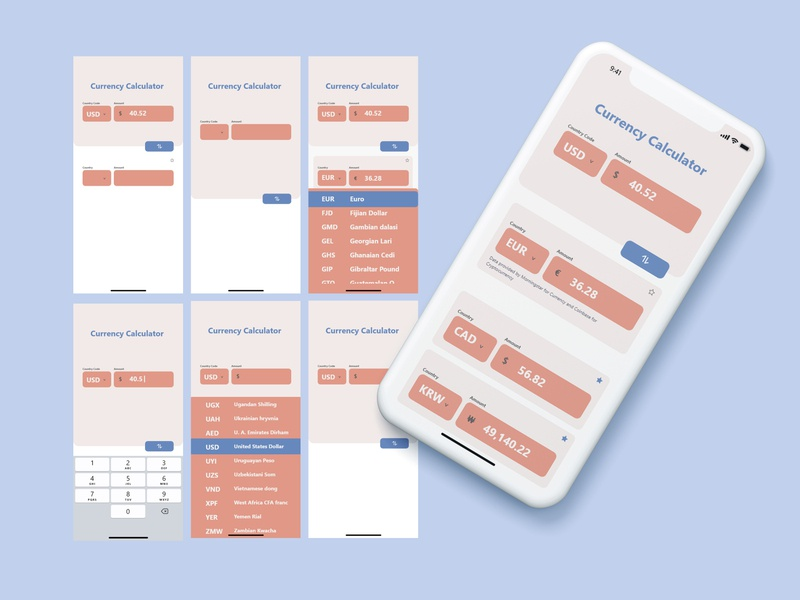 Daily UI Challenge: Calculator