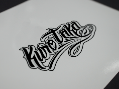 Kuro Taka Martial Arts logo martial arts type