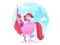Unicorn Lady