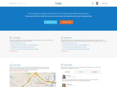 Generic Webpage