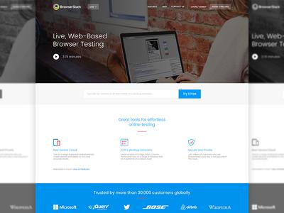 Browserstack Redesign