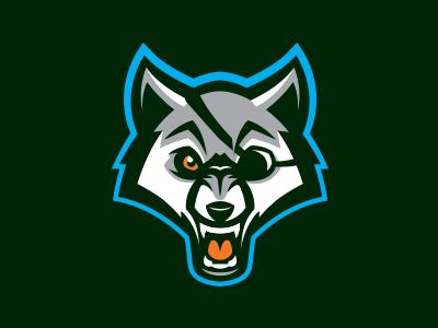 Szczecin Seawolves sport logo basketball szczecin wolf seawolves