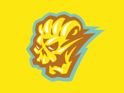 BCB Skull sports branding mascot sport logo cut butter skull barbers barber