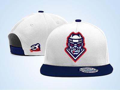 Ice Brawlers - Custom Snapback sport custom cap snapback fighter fight tooth brawlers brawler hockey ice ice hockey